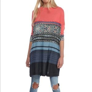 Free People Steppin Out Tee Tunic